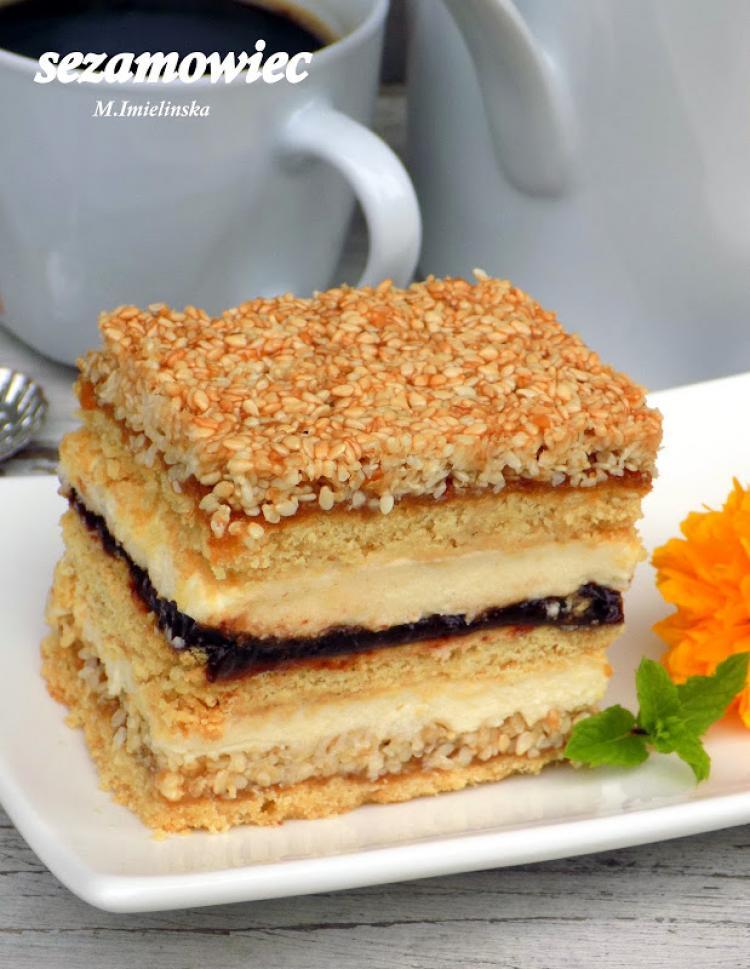 Sezamowiec Wpis Domowa Cukierenka Domowa Kuchnia Lifestylowo Pl