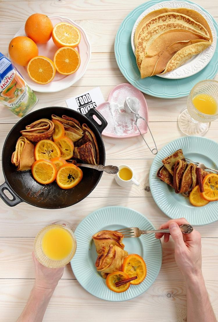 Potrojnie Pomaranczowe Zapiekane Nalesniki Wpis Smykwkuchni